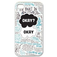 The Fault In Our Stars iPhone 4,4s Case Cover - Snap-on Hard-JD Design