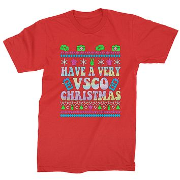Have A Very Vsco Ugly Christmas Mens T-shirt