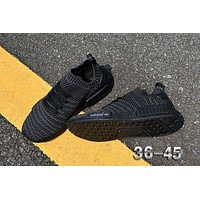 Adidas NMD R1 Stlt Spring Summer 2018 Line up Black Running Sport Shoes Camouflage Sneakers Casual Shoes