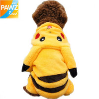 New 2014 Cute Cartoon Pikachu Design Pet Costume Dog Clothing Cat Dog Clothes Puppy Hoodie Winter Coat for Dogs-in Clothing & Shoes from Home & Garden on Aliexpress.com   Alibaba Group