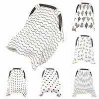 Baby Stroller Car Seat Cover Breathable Sun Shade Canopy Dustproof Blanket May5_35
