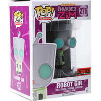 Funko Invader Zim Pop! Robot Gir Vinyl Figure Hot Topic Exclusive Pre-Release