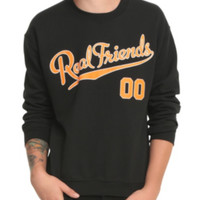Real Friends Never Grow Up Crew Pullover