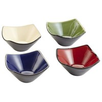 Reactive Sauces Dishes - set of 4