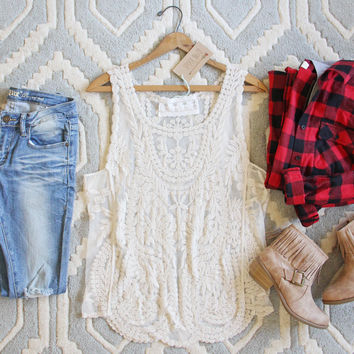 The Lace Basic Tank