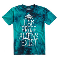 Proof Aliens Exist Tie Dye T-Shirt