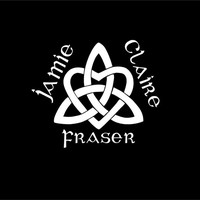 Celtic Trinity Heart Knot with Name Car decal Scottish decal Celtic decal Highlander decal Gaelic decal custom vinyl decal sticker