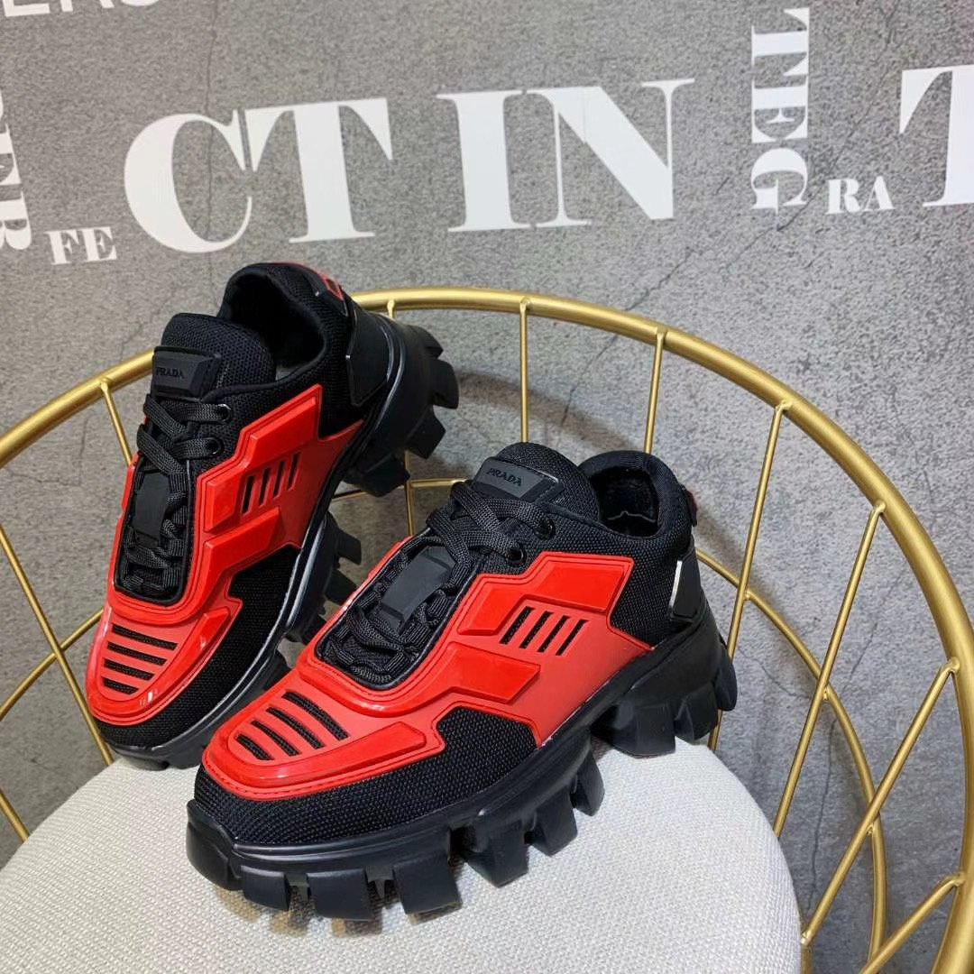 Image of prada womens mens 2020 new fashion casual shoes sneaker sport running shoes