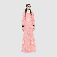 Gucci Chantilly lace gown