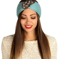 Sale-blue Faceted Stone Turban