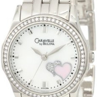 Caravelle by Bulova Women's 43L128 Heart motif Watch