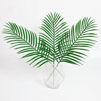 Artificial Green  Palm Leaves