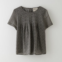 COMBO POPOVER BLOUSE