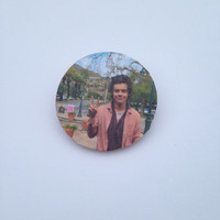 Harry Styles One Direction Pin Button