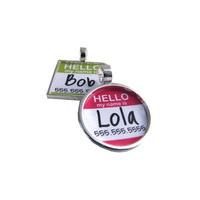 Unique Dog Tags for Pets   Hello My Name Is