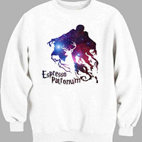 espresso patronum harry potter in galaxy Sweater for Mens Sweater and Womens Sweater ***