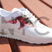White Rose Garden Nike Air Max Thea Women