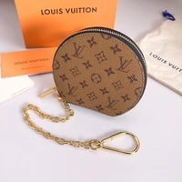 KUYOU LOUIS VUITTON M63598 yellow flower decoration key chain can be used for bag shoulder strap extension chain LV