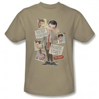 Mr Bean - Mens Bean There T-Shirt In Sand