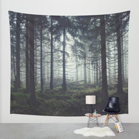 Through The Trees Wall Tapestry by Tordis Kayma | Society6