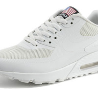 White Air Max 90 Hyperfuse Running Shoes