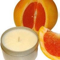 Scented Soy Massage Oil Spa Candle