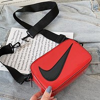 NIKE Popular Women Shopping Crossbody Satchel Shoulder Bag Red