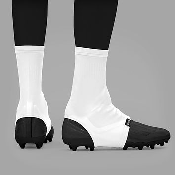 Basic White Spats / Cleat Covers