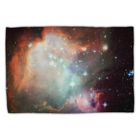 Space All Over Standard Size Polyester Pillow Case All Over Print by TooLoud