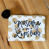 Cosmetic Bag - Mascara & Lipstick