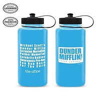 The Office Dunder Mifflin Water Bottle [BLUE 32oz]
