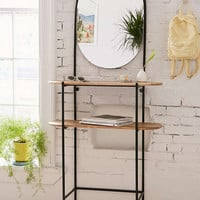 Wooden Entryway Storage Unit | Urban Outfitters