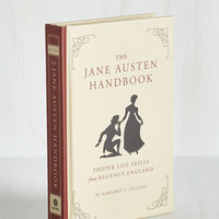 Best Seller The Jane Austen Handbook by ModCloth
