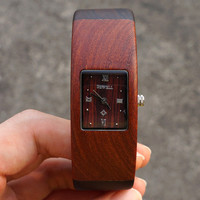 Eco-friendly Natural Sandal Wooden Watch