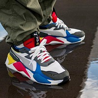 PUMA RS-X Reinvention Men's and women's retro color matching old shoes