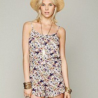 Intimately Free People  Printed Romper at Free People Clothing Boutique