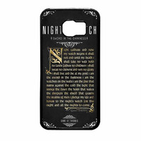Game Of Thrones Nights Watch Samsung Galaxy S6 Case