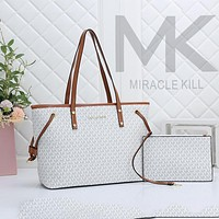MK Bag Women  Shopping bag  big bag with small bag two piece suit blue