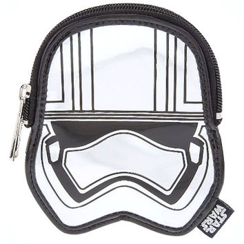 disney parks star wars captain phasma loungefly coin purse new with tags