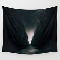 Walk of shame Wall Tapestry by HappyMelvin