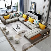 Supreme 9 Seater Sectional Sofa
