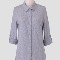 Lea Button-Up Top