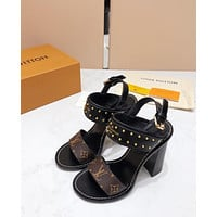 Louis Vuitton Lv Nomad Sandal #2182