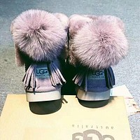 UGG Women Fashion Wool Snow Boots-2