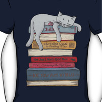 How to Chill Like a Cat Women's T-Shirt