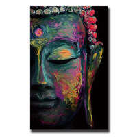 Buddha Canvas Painting Wall Art Poster Unframed
