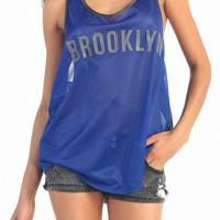 Brooklyn Blue Tank Top