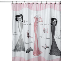 Avanti Dressed to Thrill 70-Inch x 72-Inch Shower Curtain