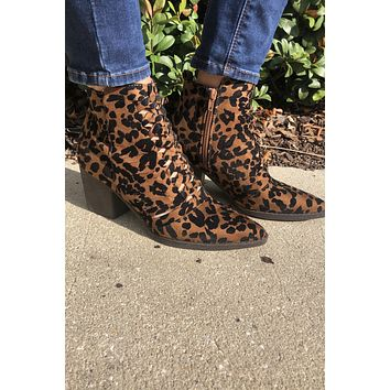 Stepping Out Booties- Brown