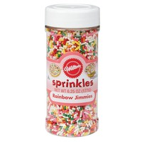 Wilton Rainbow Jimmies Sprinkles 6.25 oz : Target